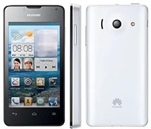 Huawei Ascend Y300-0151 4GB WiFi Android Touchscreen GSM Dual Core 3G Cell Phone - White