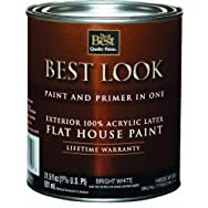 - HW35W0950-14 Best Look Latex Flat Paint And Primer In One Exterior House Paint