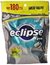 Eclipse Sugar Free Gum, Polar Ice, 18…