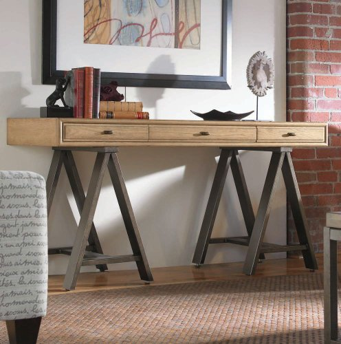 Buy Low Price Console Desk by Pennsylvania House – Wood Stone Finish (929803R) (929803R)