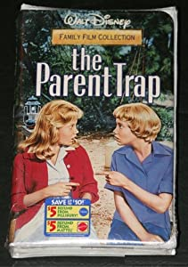 amazoncom the parent trap vhs dennis quaid lindsay