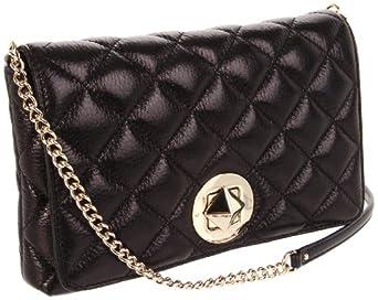 Kate Spade New York Gold Coast Meadow Shoulder Bag,Black,One Size