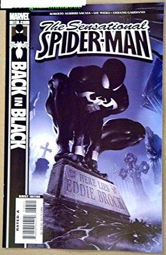 Sensational Spider-Man #38 Comic Book - Marvel Comics 2007 - 9.8 Grade - Back In Black - Eddie Brock - Venom
