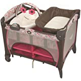 Graco Pack 'n Play Playard with Newborn Napper Station DLX, Jacqueline (Discontinued by Manufacturer)