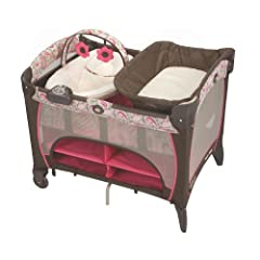 Graco Pack 'N Play with Newborn Napper Station DLX, Jacqueline