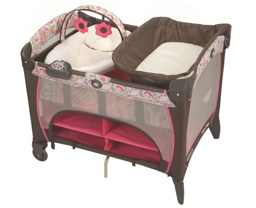 Read About Graco Pack 'n Play Playard with Newborn Napper Station DLX, Jacqueline