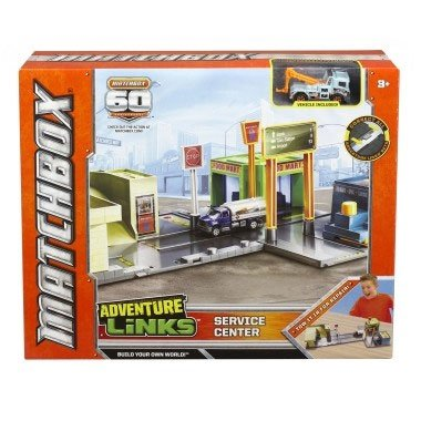 matchbox-adventure-links-service-center-playset-with-vehicle