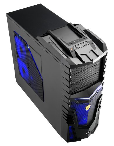 Aerocool X-Warrior Screwless Gaming Mid Tower Case with No PSU – Black