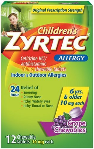 Childrens zyrtec long term use