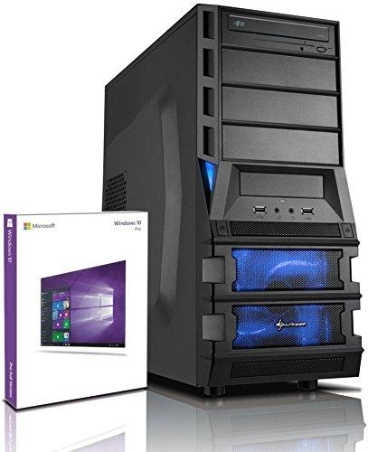shinobee i7 Gaming-PC Intel I7-920 4x2.93 GHz - nVidia Geforce GTX1050 - 8GB DDR3 - 1 TB HDD - Windows 10 - DVD±RW - Gamer PC - Gaming Computer - Desktop PC - Rechner #5197