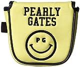[パーリーゲイツ] PEARLY GATES パーリーゲイツ 定番 スマイル ツーボール パターカバー (センターシャフト用) 053-6984050 060 (060 イエロー)