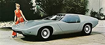 1970 Opel Diplomat Concept Automobile Photo Poster at Amazon's