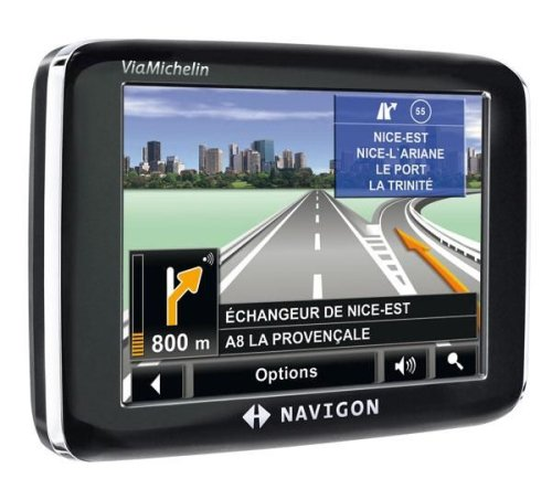 Navigon 2200 France GPS Ecran 3,5'' TMC Premium Edition Viamichelin
