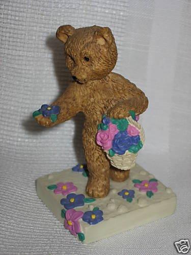 "Avon Days of Week Bears Tuesday Bear Full Grace 3"" tall"