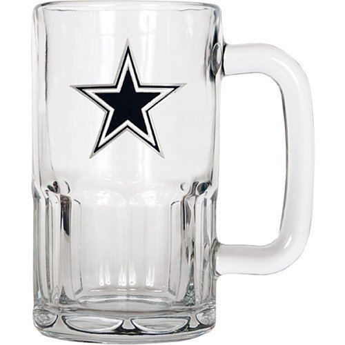 NFL Dallas Cowboys 20-Ounce Root Beer Style Mug - Primary Logo