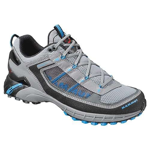 Cyclone DLX Trail Shoe - Women's Anthracite/Cyan 5 by Mammut