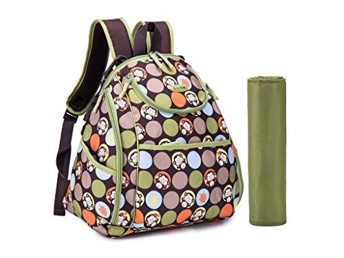 cld diaper bag backpack size dealtrend. Black Bedroom Furniture Sets. Home Design Ideas