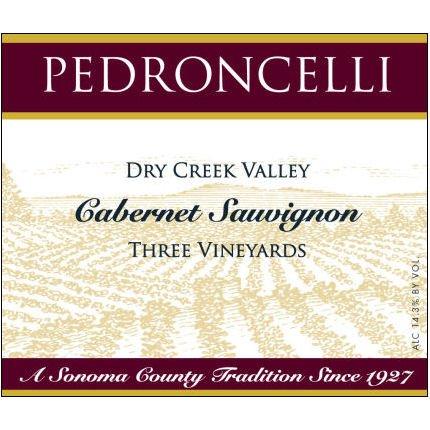 2009 Pedroncelli Dry Creek Three Vineyards Cabernet 750Ml