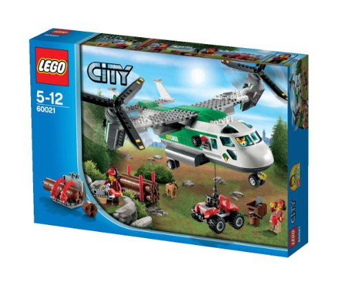 Lego® City® Cargo Heliplane & Atv Quadbike With 3 Minifigures | 60021