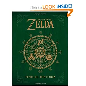 Amazon - The Legend of Zelda: Hyrule Historia [Hardcover] - $19.24