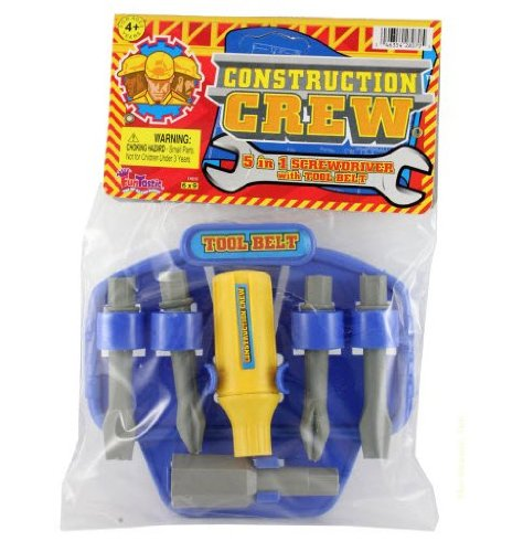 Construction 5-in-1 Screwdriver Tool Belt