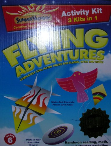 Flying Adventures (Completely Cool Flying Tricks For Planes, Kites, And Discs) back-889001