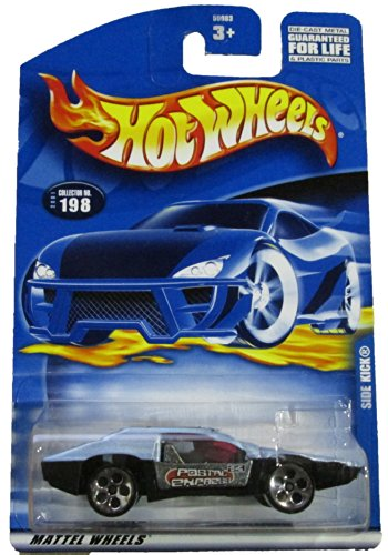 #2001-198 Side Kick Collectible Collector Car Mattel Hot Wheels 1:64 Scale