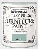 Rust-Oleum Chalk Furniture Paint Duck Egg Blue 125ml