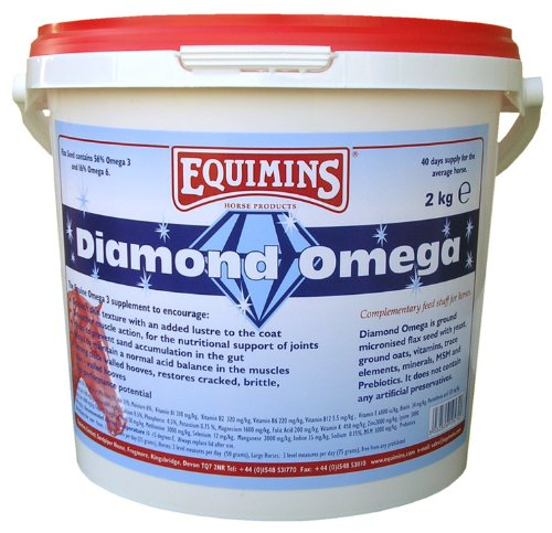Diamond Omega, Equimins, Horse Nutrition And Supplements 2Kg Eco-Pack