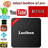 Leelbox Q1 Pro Android TV Box with Android 5.1 Lollipop 1GB RAM,Wifi and Amlogic S905 Cortex A53