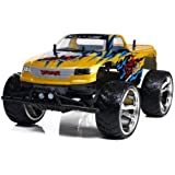 "Big Wheel Monster Truck 18"" RC 1/10 Electric RTR Off-Road Truggy (Shell Painting May Vary)"