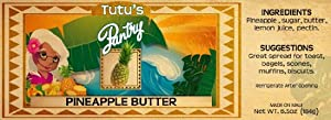 Hawaii Maui Value Pack Tutu's Pantry Pineapple Butter 9 Jars