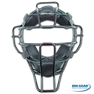 Champro DRI-GEAR Pro-Plus Umpire Mask - Super Lite - 15.5oz by Champro