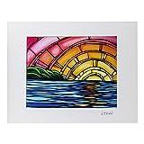 Heather Brown ヘザーブラウン アートプリントジューシーサンセット HB9056P ハワイ 絵画 インテリア