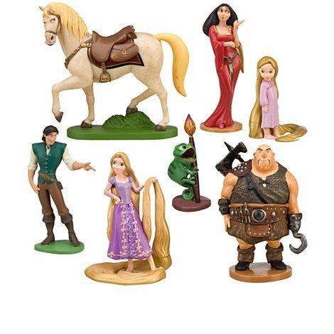 Disney Tangled Rapunzel Figure Play Set 7 Pc