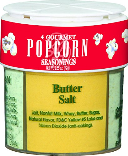 4in1 Gourmet Popcorn Seasonings ~ 2.55 oz. (Dessert And Baking Salts Gift Set compare prices)