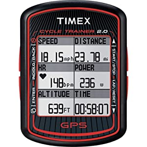 Timex Cycle Trainer 2.0 Bike Computer w GPS Technology and Heart Rate by Timex