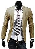 TM Stylish Mens Casual Slim Fit One Button Suit Pop Business Blazer Coat Jacket