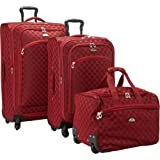 American Flyer Madrid 3-Piece Spinner Luggage Set EXCLUSIVE