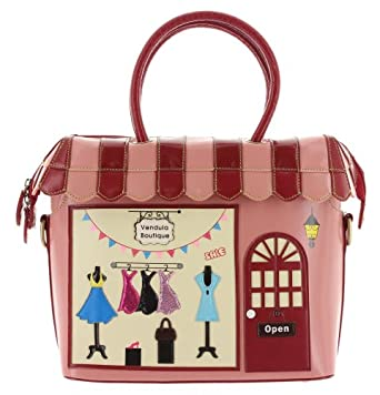 Vendula London Henkeltasche BOUTIQUE BAG Rosa one size