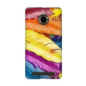 FASHEEN Premium Designer Soft Case Back Cover for Micromax YU YUNIQUE