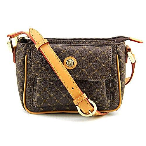 rioni-signature-pocket-purse-femmes-brun-sac-porte-main