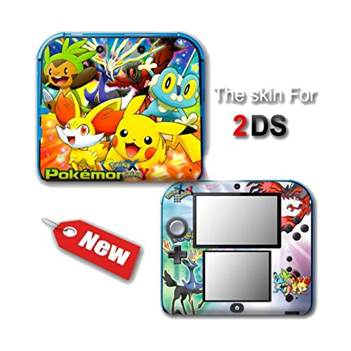 Pokemon X and Y XY NEW SKIN VINYL STICKER DECAL COVER #1 for Nintendo 2DS Sold By Winter Sun (2ds Omega compare prices)