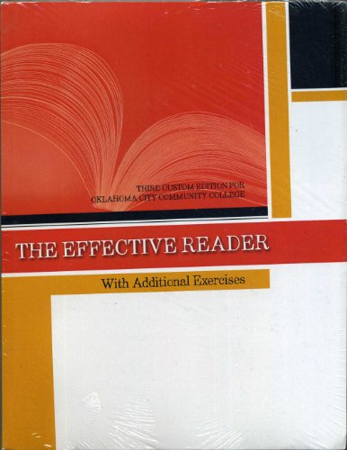 The Effective Reader Third Custom Edition for Oklahoma City Community College