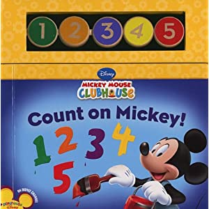 Count on Mickey! (Mickey Mouse Clubhouse) Susan Amerikaner and Inc. Loter