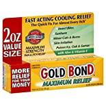 Gold Bond Anti-Itch Cream, Maximum Relief, Value Size, 2 oz (56.6 g)