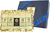 Kona-Smooth Hawaiian Coffee Sampler for Graduation, Fathers Day, Birthday & All Occasions, Ground Coffee, Brews 60 Cups