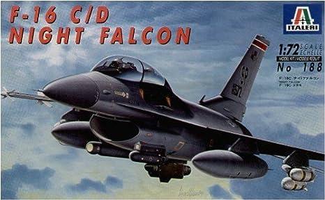 Italeri - I188 - Maquette - Aviation - F-16 C/D Night Falcon - Echelle 1:72