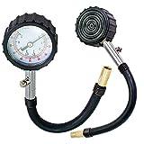 Carejoy® Lastkraftwagen Auto Reifendruckmesser Luftdruckprüfer Reifendruck Gummireifen Luftdruck Lehre 0-100PSI