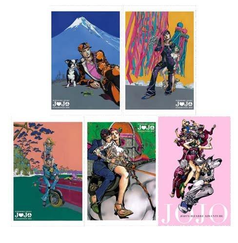 荒木飛呂彦原画展 ジョジョ展 東京 ポストカード10種セット